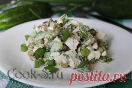 3 простых и вкусных салата с зелёным горошком, которые можно сделать за 15 минут