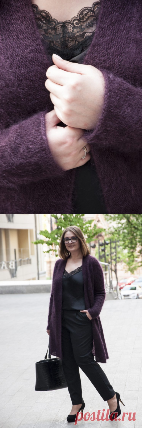 Easy Cables Cardigan — KnitTerrA