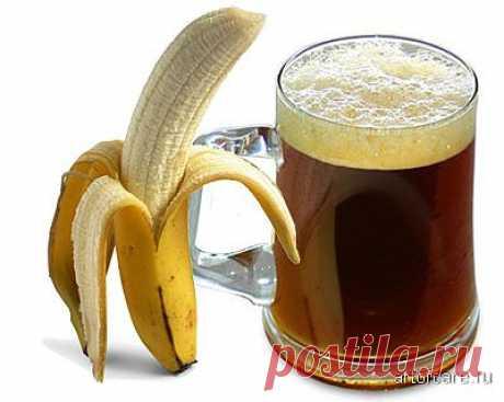 Квас Болотова из банановых шкурок   Четыре вкуса