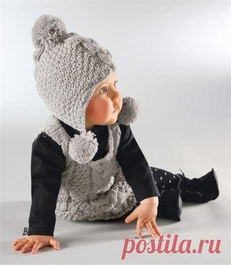 Детская шапочка.