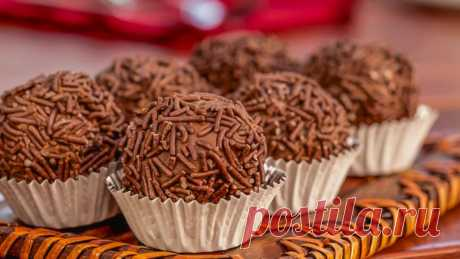 Шоколадные конфеты «Бригадейро» (Brigadeiro) — Sloosh – кулинарные рецепты