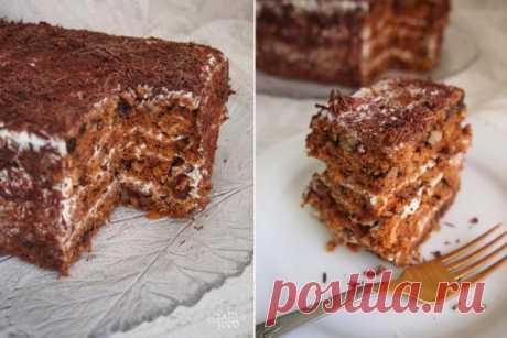 HAPPYFOOD - Морковный торт.