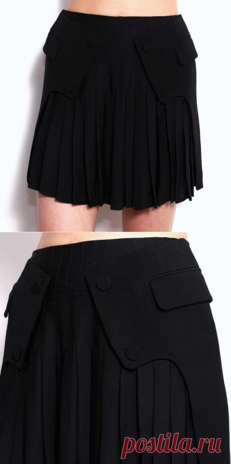 ЮБКА - ДВОЙКА !!!  **От Alexander Wang. *Можно перешить костюм из жакета и юбки - в одну вещь, или прикрыть дефект на юбке.