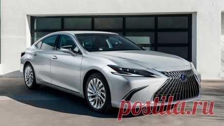 Lexus ES 2022: салон, оснащение, экстерьер