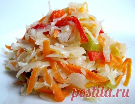 Салат из капусты на зиму — рецепты пальчики оближешь - Копилка идей