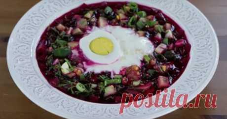 La sopa de remolacha u holodnik: el mejor plato en el calor sofocante veraniego - el JEFE FENOMENAL