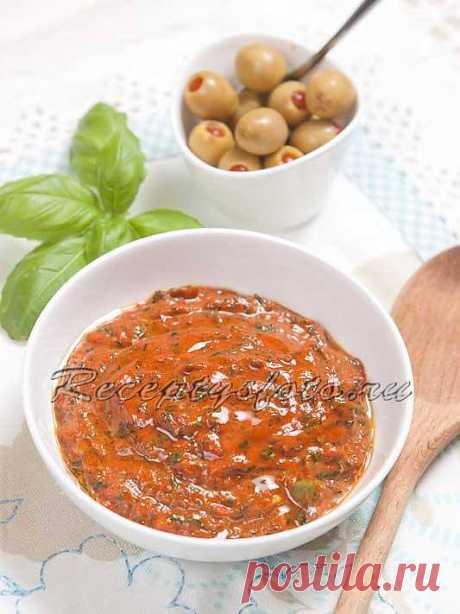 Соус песто с перцем и помидорами – рецепт с фото - Рецепты с фото