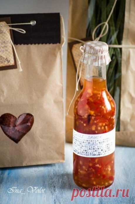 Кисло-сладкий соус с имбирем и перцем чили - Кулинарный рецепт - Повар в доме