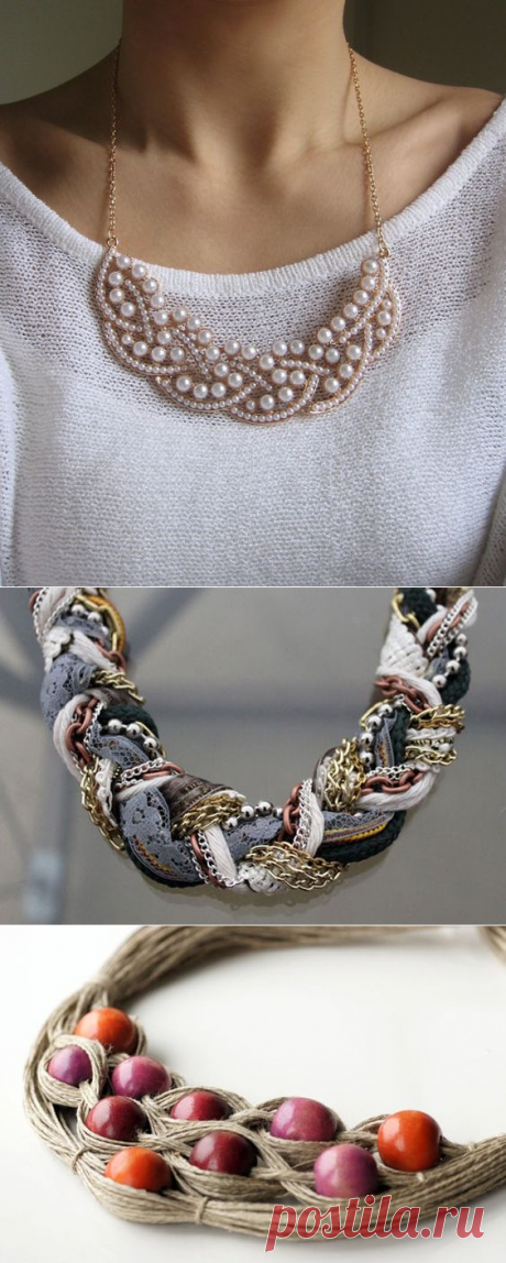 100 most beautiful ideas: a necklace and a necklace the hands on a photo