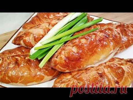 БЕЗУМНО ВКУСНЫЕ ПИРОЖКИ с курицей, картошкой и огурчиками! - YouTube