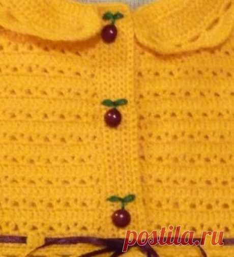 Вязаные платья для девочек. Комбинируем вязание и ткань