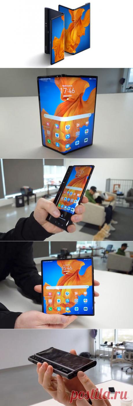 Huawei Mate XS — смартфон за 200 тысяч появился в России | Super-Blog