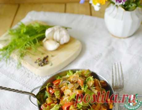 Рагу из овощей в рукаве – кулинарный рецепт