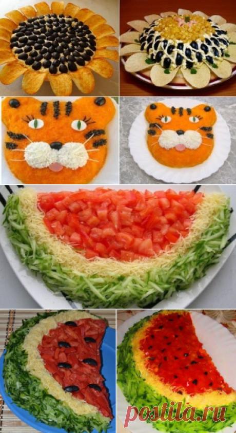 Салаты на детский День рождения | karapysik.ru