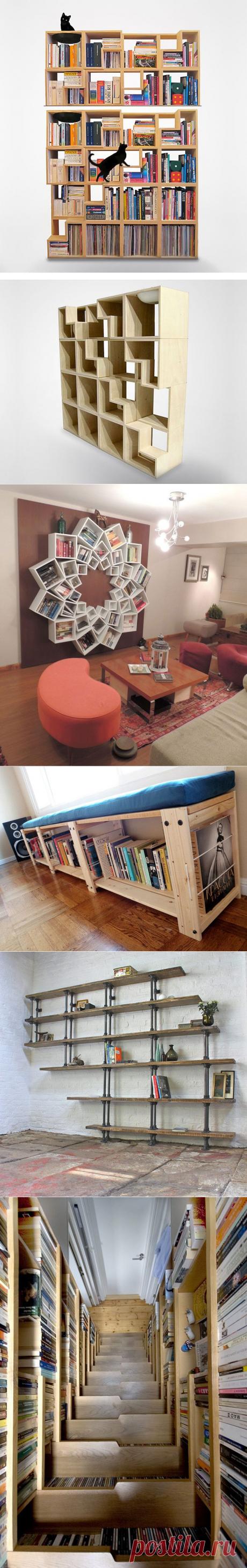 Original book shelves