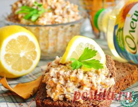 Паштет из рыбных консервов – кулинарный рецепт