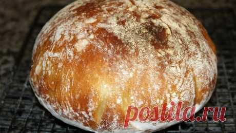 Самый полезный хлеб! Без замеса, который получается у всех Если вы никогда в жизни не пекли хлеб, то рекомендую вам начать с этого рецепта. Это нереально простой метод, который работает всегда на все 100