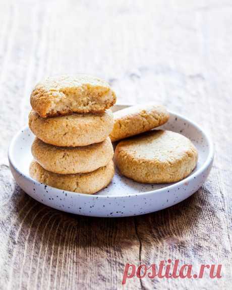 Очень простое лимонное печенье для веганов и постящихся. Оценят даже те, кто не на диете.