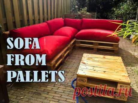 DIY An Outdoor Sofa From Pallets! | Hometalk