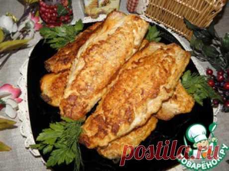 """Скумбрия жареная """"Золотая рыбка"""" - кулинарный рецепт"""