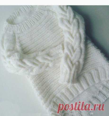 Красивый пуловер — DIYIdeas