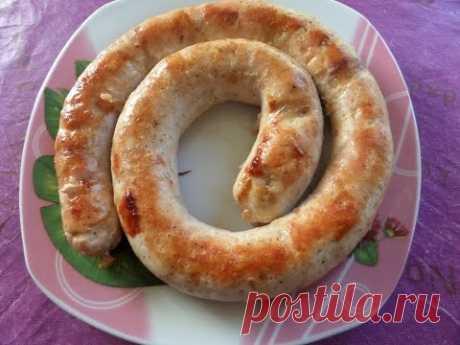 Колбаса домашняя. Приготовление колбасы с куриного мяса. - YouTube