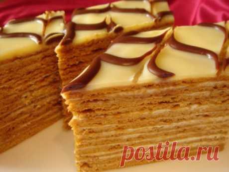 Очень вкусный медовик : Торты, пирожные
