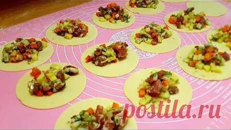 Вкусный обед или ужин на сковороде из доступных продуктов!Ханум