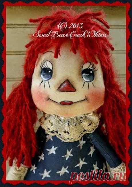 Роспись лица примитивной куклы. / Мир игрушки / Тильда. Мастер классы, выкройки.
