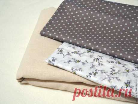 Мастер-класс: шьем текстильные мешочки для трав