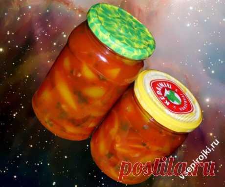 Супер перец в томате на зиму - сладкие и острые рецепты