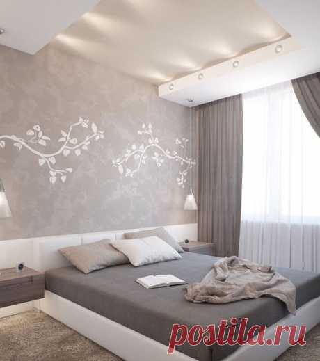 Нежный интерьер спальни