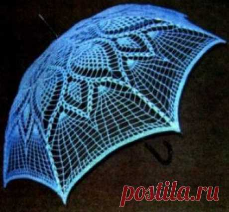 Зонты | Вязание спицами и крючком – Азбука вязания
