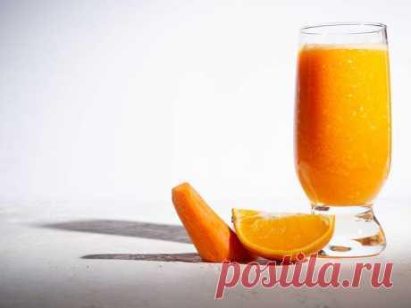 Морковный лимонад | Vegetarian.ru