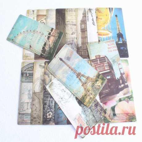 """Набор открыток """"Путешествия. Города мира"""". 32 шт. (AliExpress)"""