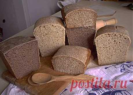 Бездрожжевой квасной хлеб своими руками ..