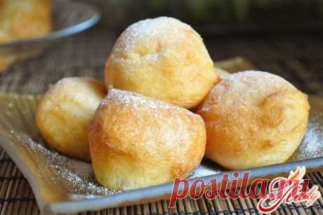 Творожные пончики во фритюре: рецепт приготовления