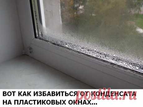Вот как избавиться от конденсата на пластиковых окнах Конечно же, все мы прекрасно знаем, что металлопластиковые окна и двери гораздо лучше могут сохранять тепло в доме, чем деревянные. Так как деревянные