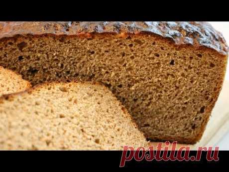 ДАЖЕ ЧЕРЕЗ НЕДЕЛЮ НЕ ЧЕРСТВЕЕТ! Хлеб на закваске