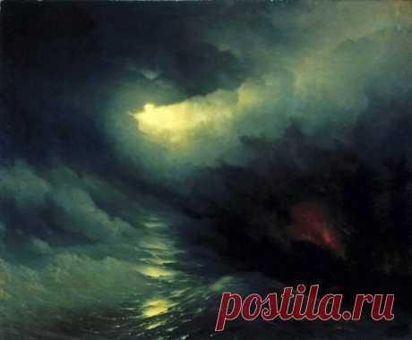 Айвазовский и его картины на библейские сюжеты