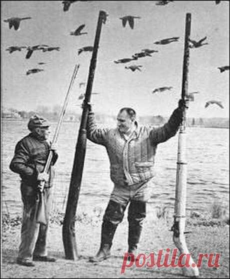 Уточница – ныне запрещённое оружие для охоты | Баркас | Охота и Рыбалка | Яндекс Дзен