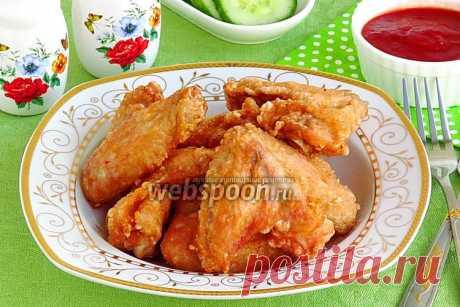 Куриные крылышки по-китайски рецепт с фото, как приготовить на Webspoon.ru