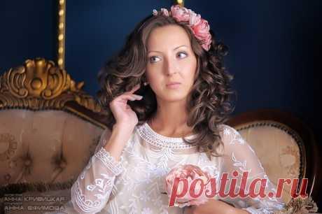 Нежный образ. Цветы ручной работы. Ободок для волос от Анны Ефимовой. фото Анны Кривицкой
