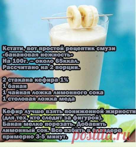 Фруктовые смузи | ВКУСНО ПОЕДИМ!