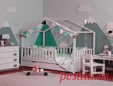 Кровать-домик для ребенка своими руками - Я строю - медиаплатформа МирТесен