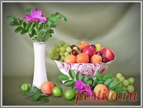 хорошая подборка фруктов