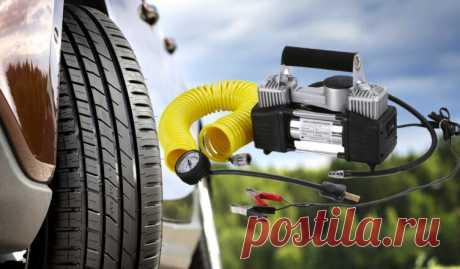 Как выбрать автокомпрессор для подкачки шин | Pentad