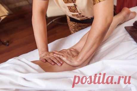 Жиросжигающий массаж ног и талии при целлюлите и растяжках в СпБ.