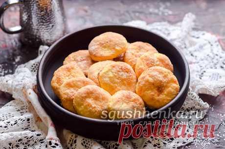 Творожное печенье: простой и быстрый рецепт с фото