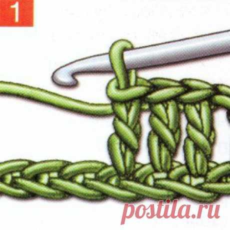 Las bases de la labor de punto de filete. #крючкоì #узоркрючкоì #филейноевязаниå #филейное_вязание